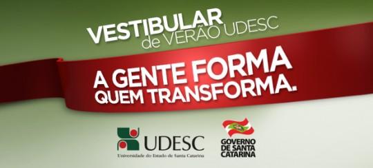 Vestibular UDESC 2015