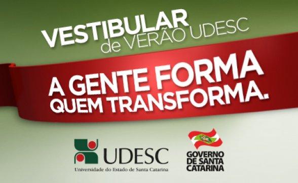 Vestibular UDESC 2015- Inscrições, prova e gabarito!