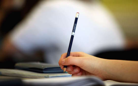 Pupils at Willamwood High School attend a math class on February 5, 2010 in Glasgow, Scotland. As the UK gears up for one of the most hotly contested general elections in recent history it is expected that that the economy, immigration, the NHS and education are likely to form the basis of many of the debates.