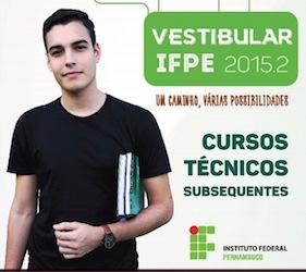 inscrição vestibular ifpe 2016