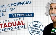 Unicentro vestibular 2016- Inscrição, Gabarito e Resultado
