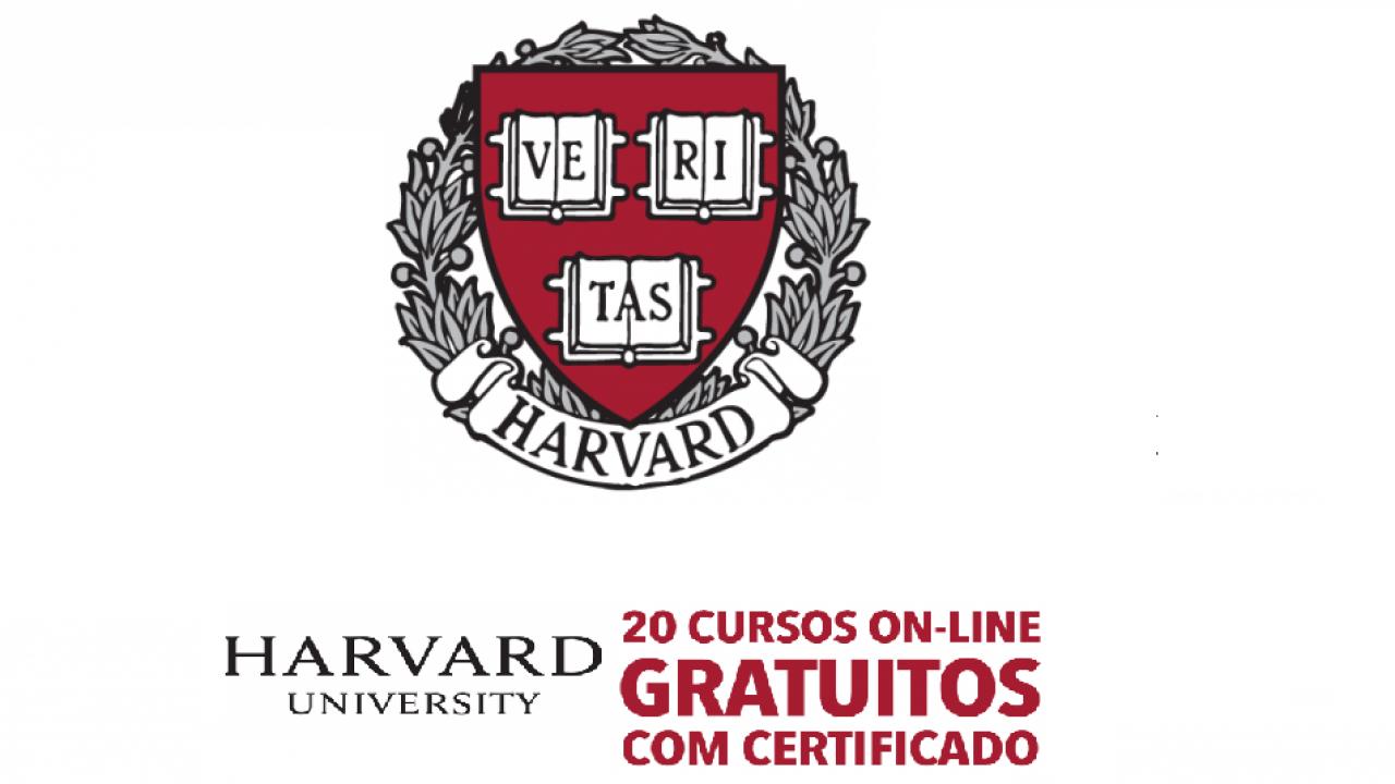 Universidade De Harvard Oferece 20 Cursos Onlines Gratuitos E Com Certificado